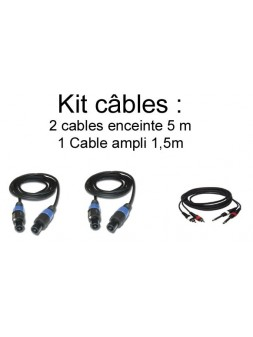 JB Systems - Kit câbles 5m