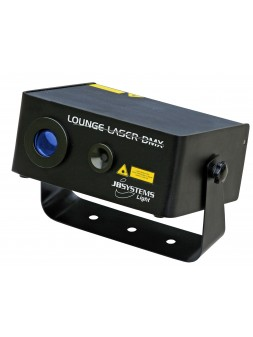 JB Systems - Lounge Laser DMX (80mW rouge + 30mW vert + 5Watt bleu LED)