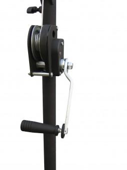 JB Systems - LS 270 :Pied a treuil ( 2,70m 65 kg)