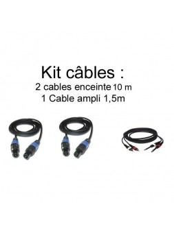 JB Systems - Kit câbles 10m