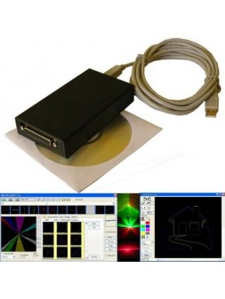 Interface Laser Mini ILDA V5