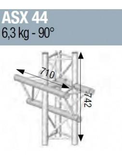 ASD - ANGLE ALU 290 4 DEPARTS 90° VERTICAL/MEDIAN G - ASX44M