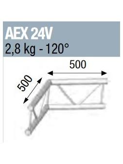 ASD - ANGLE 120° POUR ECHELLE VERTICALE 290 - AEX24V