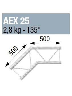 ASD - ANGLE 135° POUR ECHELLE PLATE 290 - AEX25