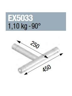 ASD - ANGLE 3D MONOTUBE 50X2 0m45 x 0m25 - EX5033