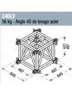 ASD - Angle 4D de levage acier pour SC 500 - C4DLV