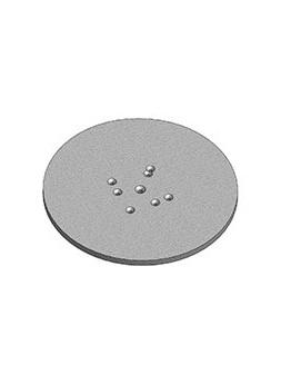 ASD - EMBASE ACIER pour EX 50, SD 150, SC 150, FX 50, Ø 400 mm. - EML40