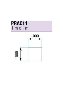 ASD - PRATICABLE CARRE 750 kg / m² de 1m x 1m. plancher extérieur - PRA-C11