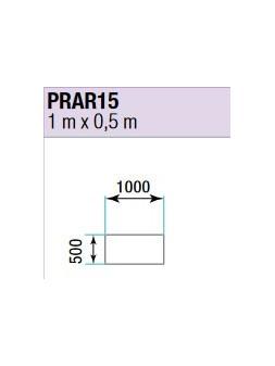 ASD - PRATICABLE RECTANGULAIRE 750 kg / m² de 1m x 0,5m. plancher extérieur - PRA-R15