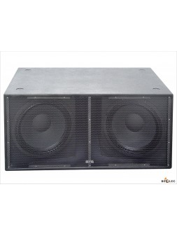 """Synq - RS 218 B (2 x 18\"""" subwoofer, 1200W RMS)"""