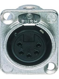 JB Systems - JB 111 NC 5 FDL (D size) female XLR 5 pin chassis