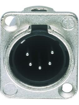 JB Systems - JB 116 NC 5 MDL (D size) male XLR 5 pin chassis