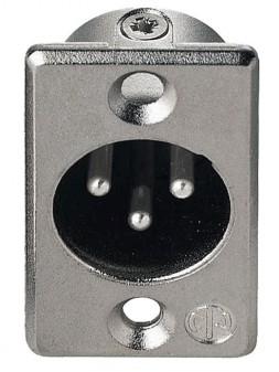JB Systems - JB 115 NC 3 MDL (D size) male XLR 3 pin chassis