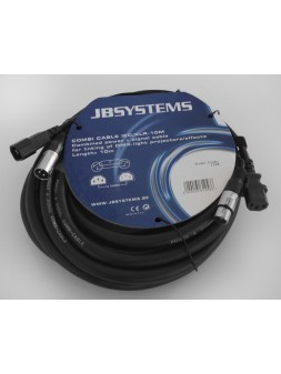JB Systems - Combi Cable IEC/XLR 10M