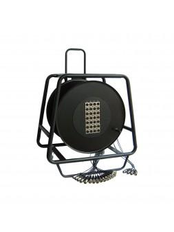 Power Acoustics - Accessoires - Multipaires enrouleur 30m - 24 IN / 4 OUT - SNAKE 2092