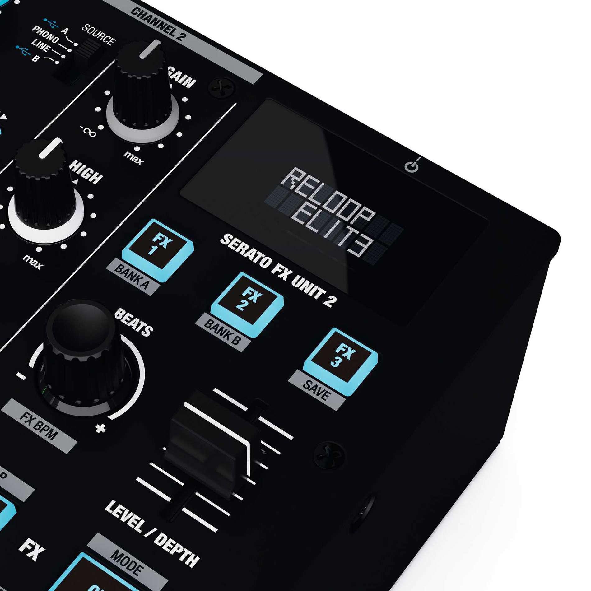 Reloop Mixage Professionnelle Dj Eli Pro Console De Serato Pour W2H9YEDI