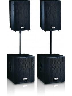 Definitive Audio - Ensemble 2xM215A + 2xM118A - FUSION 2000