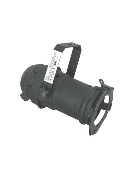 PAR 16 noir with GU 10 socket  CE LVD + Porte gélatine