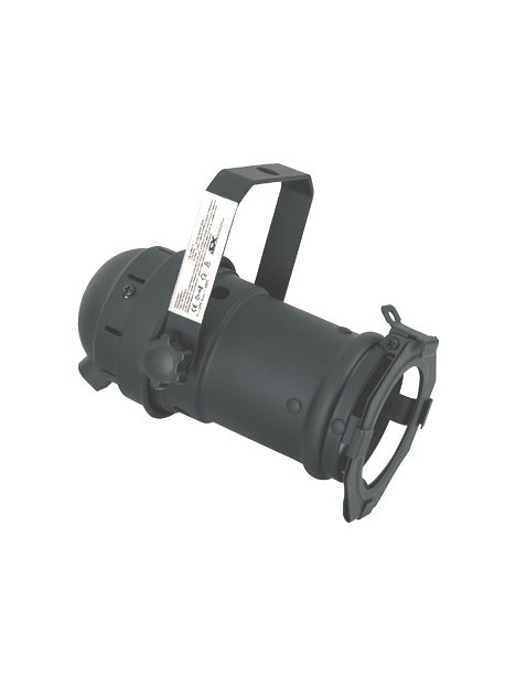 PAR 20 noir (socket E27)   CE LVD + Porte gélatine