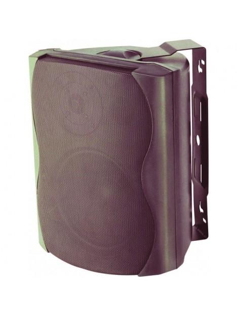 K 50/BL (1 pair) : minibox noir 50W RMS / 8 Ohm