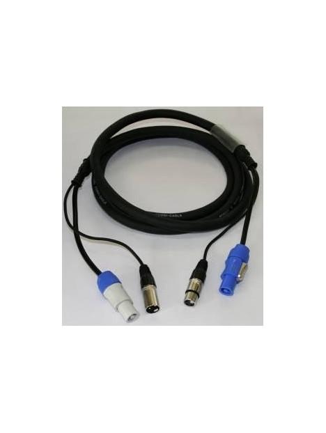 POWERCON XLR COMBI CABLE 1.30