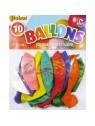 "Ballons ""joyeux anniversaire"" x10"