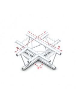Showtec - 90° 4-way horizontal - DT22016