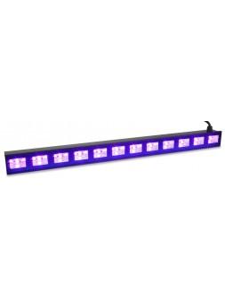 BEAMZ - BUV123 barre 12 LEDs UV 3w