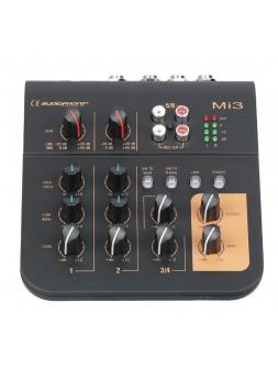 Audiophony - Mi3 Mixer 3 canaux 2 microphones et 1 stéréo - 10909