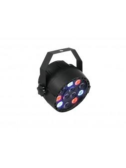 Eurolite - Projecteur LED compact DMX 12 x 1 W RGBW