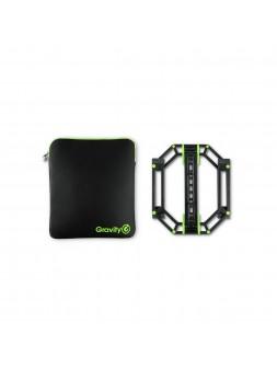 Gravity LTS 01 B SET 1 - Pied pour ordinateurs portables + housse de protection