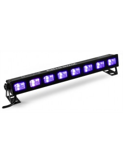 BEAMZ - BUV93 barre 8 LEDs UV 3w