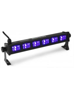 BEAMZ - BUV63 barre 6 LEDs UV 3w