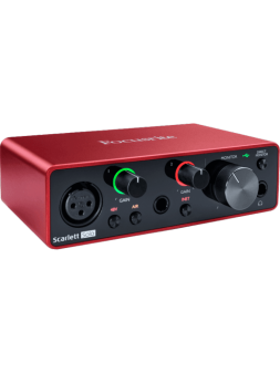 Focusrite Scarlett Solo 3e génération 2 in/2 out USB-C - RFO SCARLETT3-SOLO