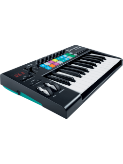 Novation LaunchKey 25 mk2 Grandes touches - 25 notes, 16 pads RNO LAUNCHKEY-25-MK2