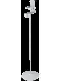 K&M - Stand de désinfectant (Hauteur 1,02 m, Support flacon support flacon 102 x 65 à 102 mm) - TKM 80310