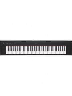 YAMAHA - NP-32B Piano numérique portable Piaggero noir - NP32