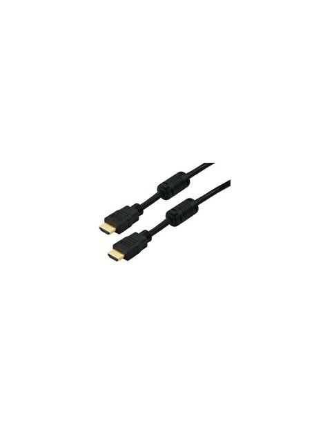 CORDON HDMI 15M 2XFICHE HDMIM 19P
