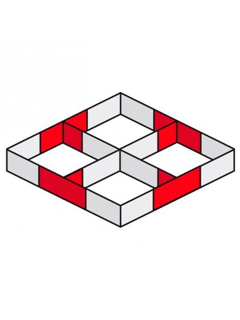 AGDUO29-04 - Angle échelle 3 directions 90° droit