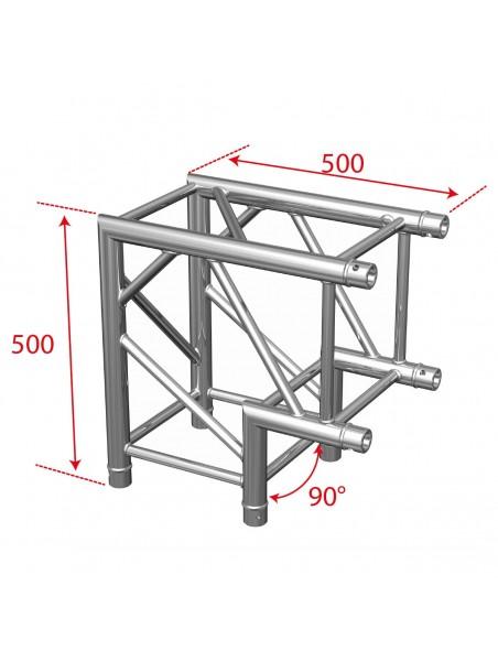 AGQUA-02 - Angle Quatro 2 directions 50cm 90°