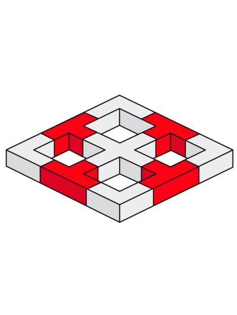 AGQUA-05 - Angle Quatro 3 directions 90°