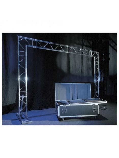 Mobile DJ Truss Stand