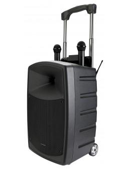 Audiophony - CR12A-COMBO Sono Portable PRO 120w RMS + 2 Micro HF (sans fil)