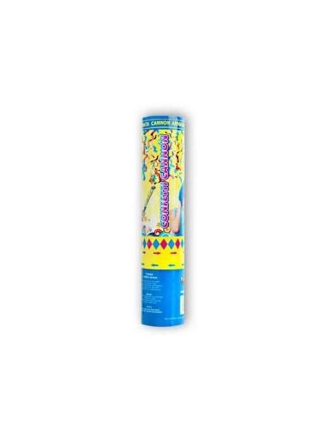 Canon à confettis multicolores 20cm