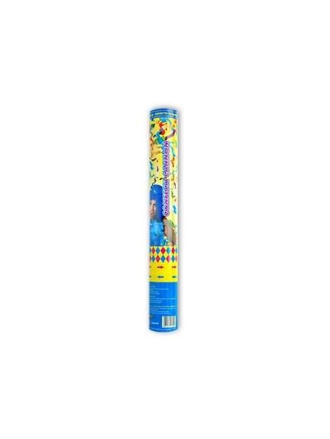 Canon à confettis multicolores 40cm