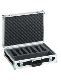 Flight Case pour 7 microphones