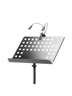 Adam Hall Stands SMS 17 SET 1 - Pupitre Musique avec Lampe LED