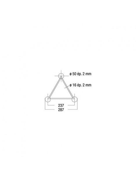 ASD - Structure alu triangulaire 290 0,29m (fournis sans kit)