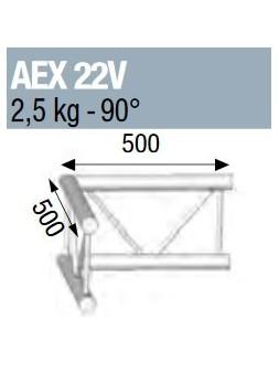 ASD - ANGLE 90° POUR ECHELLE VERTICALE 290 - AEX22V