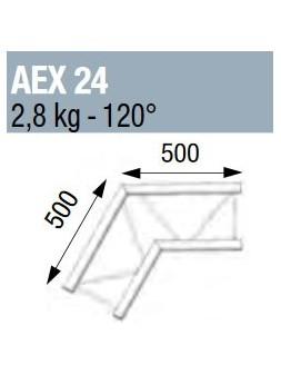 ASD - ANGLE 120° POUR ECHELLE PLATE 290 - AEX24